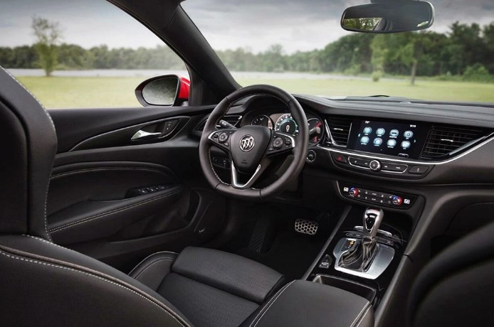 2021 Buick Grand National Interior