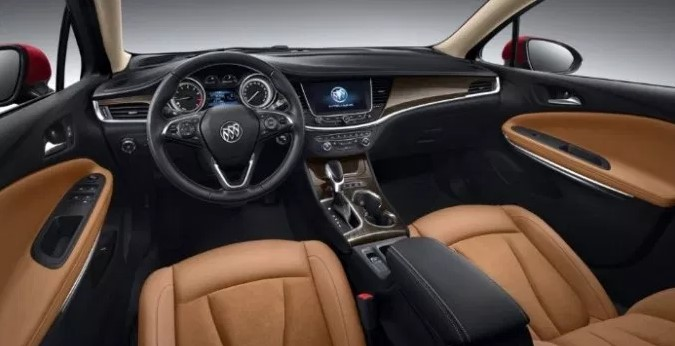 2020 Buick Regal Sportback Interior